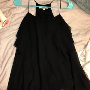 Tops - Fun black top! Good for an evening out